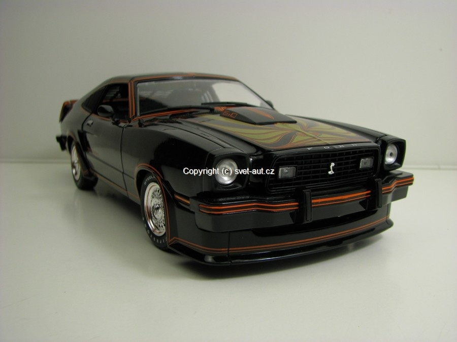 Ford Mustang II 1978 King Cobra 1:18 Greenlight
